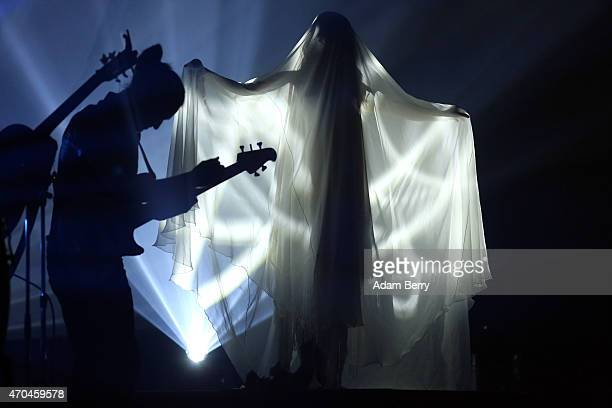 SentaSofia Delliponti also known as Oonagh performs during a concert at Admiralspalast on April 20 2015 in Berlin Germany