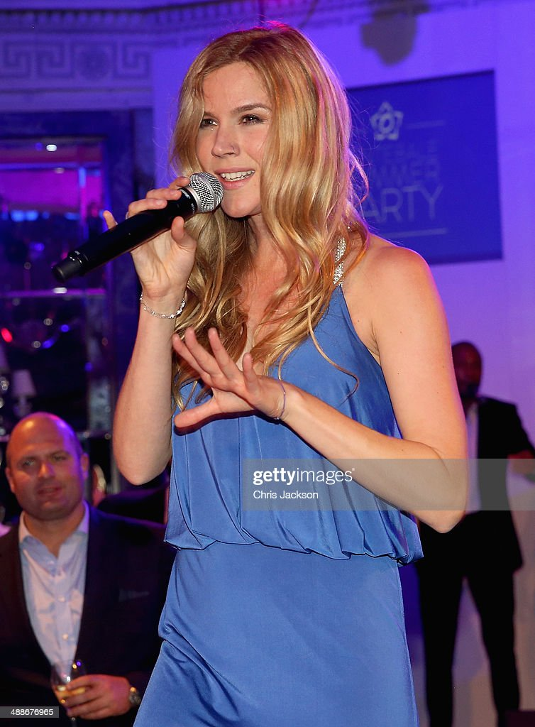 Sentebale ambassador <a gi-track='captionPersonalityLinkClicked' href=/galleries/search?phrase=Joss+Stone&family=editorial&specificpeople=201922 ng-click='$event.stopPropagation()'>Joss Stone</a> performs on stage during the Sentebale Summer Party at the Dorchester Hotel on May 7, 2014 in London, England.