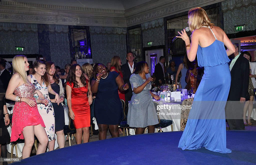 Sentebale ambassador Joss Stone performs on stage during the Sentebale Summer Party at the Dorchester Hotel on May 7, 2014 in London, England.