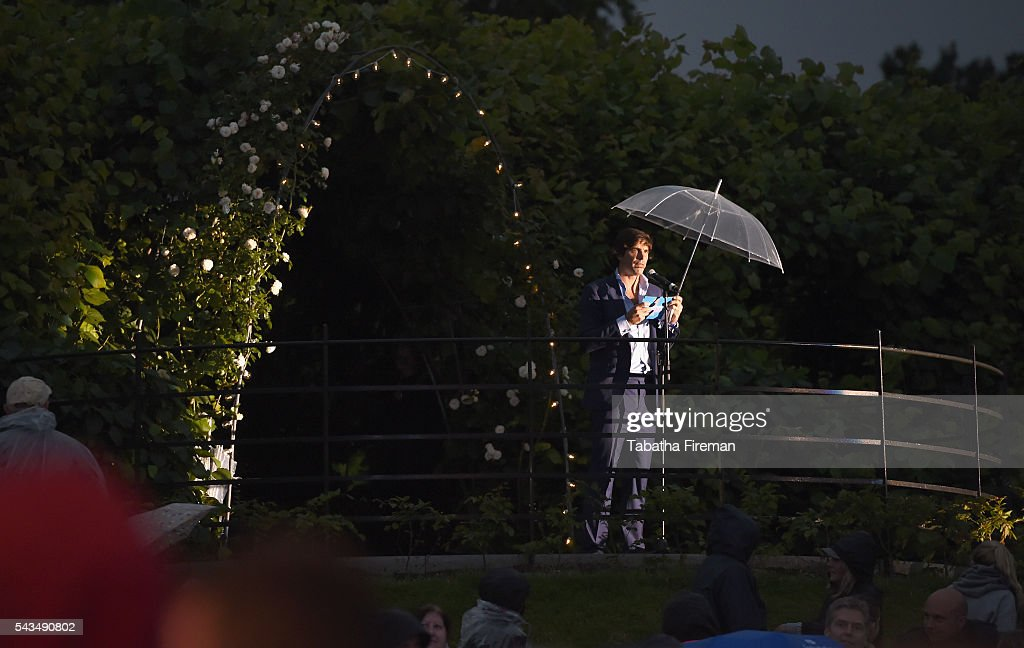 Sentebale Ambassador <a gi-track='captionPersonalityLinkClicked' href=/galleries/search?phrase=Nacho+Figueras&family=editorial&specificpeople=2308997 ng-click='$event.stopPropagation()'>Nacho Figueras</a> speaks during the Sentebale Concert at Kensington Palace on June 28, 2016 in London, England. Sentebale was founded by Prince Harry and Prince Seeiso of Lesotho over ten years ago. It helps the vulnerable and HIV positive children of Lesotho and Botswana.