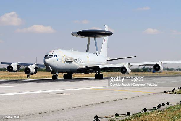A NATO AWACS E-3A Sentry during Exercise Anatolian Eagle.