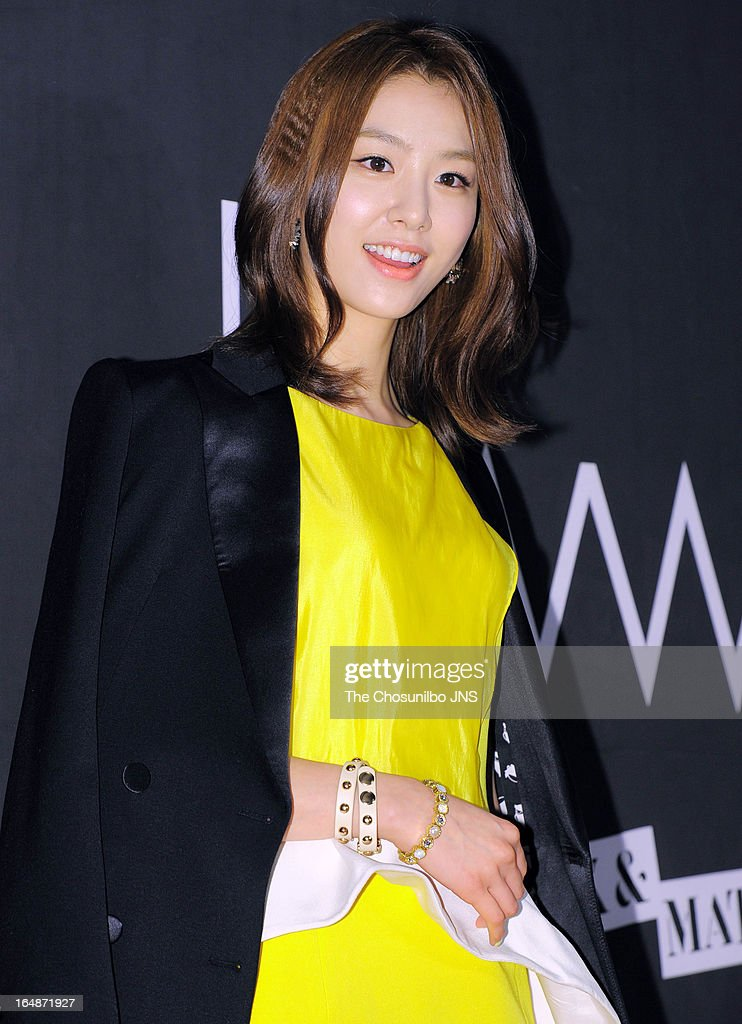 Seo Ji-Hye attends the 'drww.' launch & beauty talk concert at Conrad Hotel on March 28, 2013 in Seoul, South Korea.