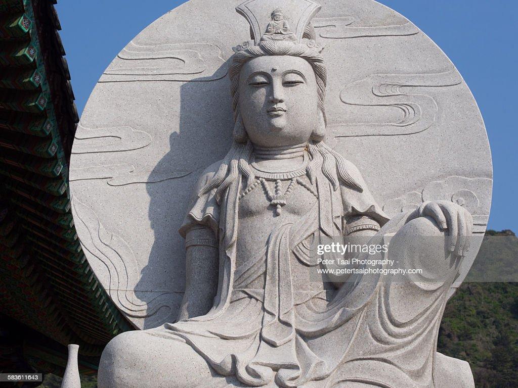 Seongsan Ilchulbong Temple Statue