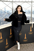 Seori Visits The Empire State Building On Her First...