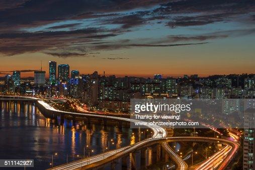Seoul Cityscape/Nightscape