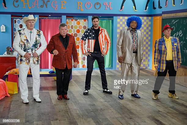 NEVER 'Seoul' Episode 103 Pictured Terry Bradshaw William Shatner Jeff Dye George Foreman Henry Winkler