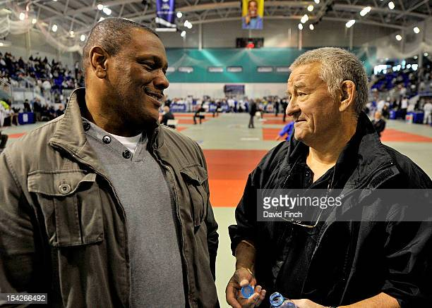 Seoul Olympic bronze medallist Dennis Stewart and Olympic coach and BJA director Roy Inman discuss judo at the British Cadet and PreCadet...
