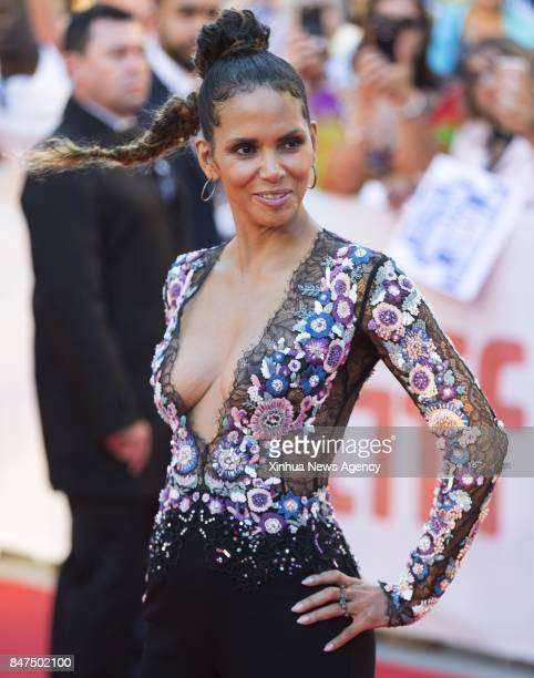 TORONTO Sep 13 2017 Actress Halle Berry attends the world premiere of the film 'Kings' at Roy Thomson Hall during the 2017 Toronto International Film...
