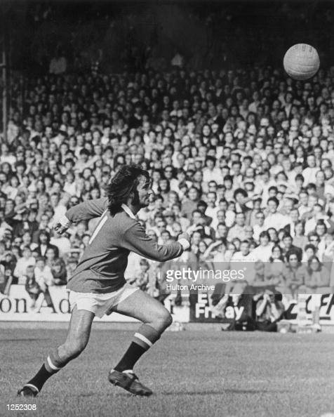 George Best of Manchester United and Northern Ireland in action during a league match Mandatory Credit Allsport Hulton/Archive