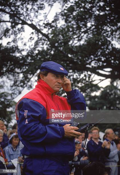 USA team captain Ray Floyd during the Ryder Cup at The Belfry in Sutton Coldfield England Mandatory Credit David Cannon /Allsport