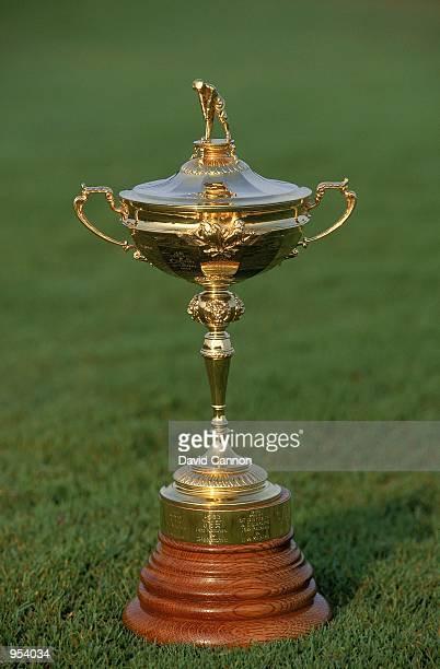 The Ryder Cup Trophy at Kiawah Island in South Carolina USA Mandatory Credit David Cannon /Allsport