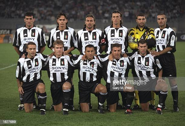 A group photgraph of the Juventus team before the Champions League match against Feyenoord in Turin Italy Juventus won the match 51 Mandatory Credit...