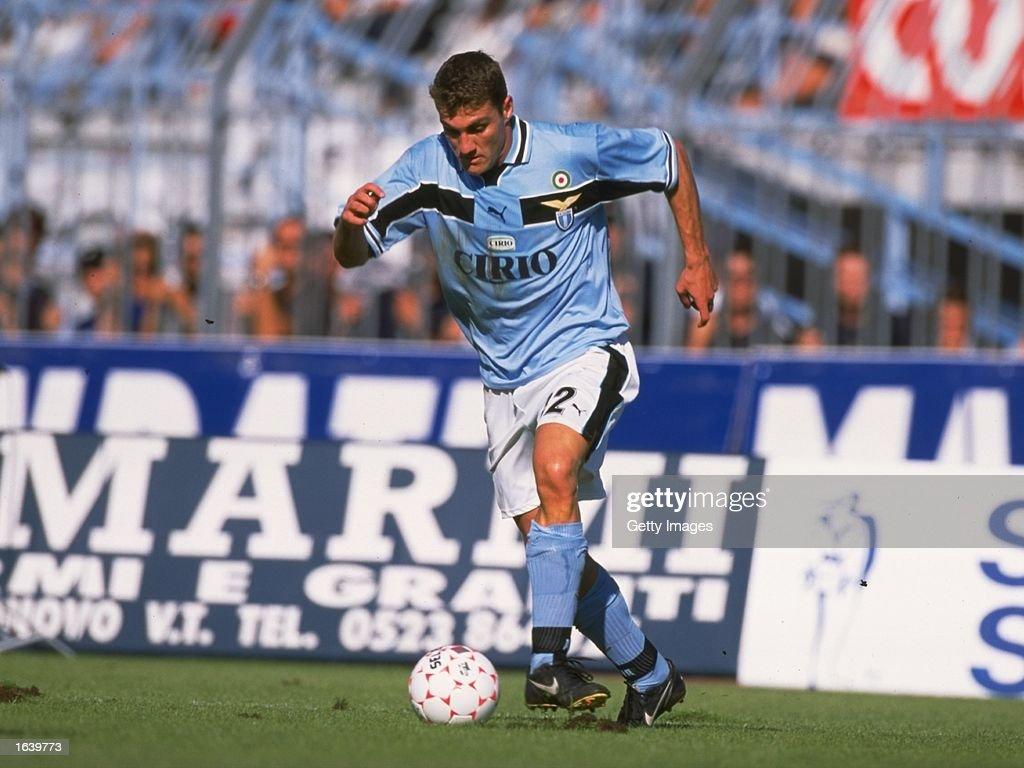 Christian Vieri of Lazio