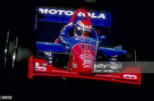 Didier Andre of France in action during the CART Molson Indy Vancouver in Vancouver BC Canada Mandatory Credit Robert Laberge /Allsport