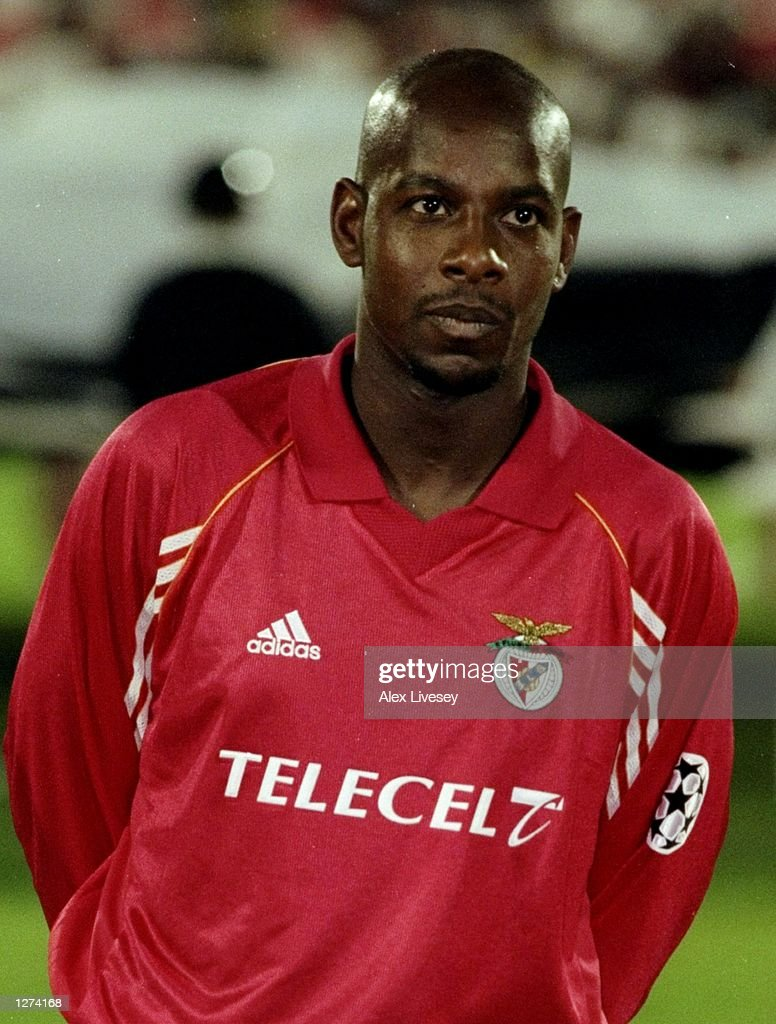 Portrait of Michael Thomas of Benfica before the UEFA Champions League match against PSV Eindhoven at the Estadio da Luz in Lisbon Portugal Benfica...