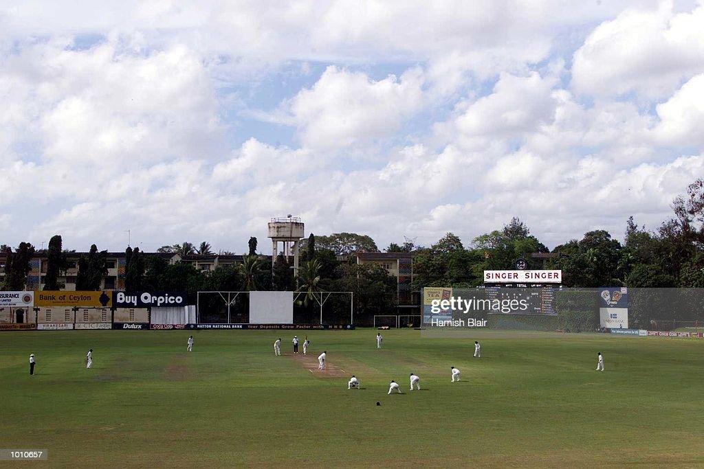 General View of Saravanamuttu Stadium, during day two of the tour match between the Sri Lanka Board XI and Australia at Saravanamuttu Stadium, Colombo, Sri Lanka. Mandatory Credit: Hamish Blair/ALLSPORT
