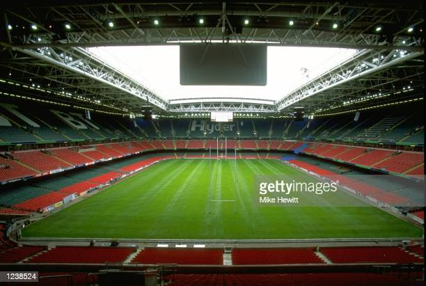 General view of the newly completed Millennium Stadium before the opening game of the Rugby World Cup in Cardiff Wales Mandatory Credit Mike Hewitt...