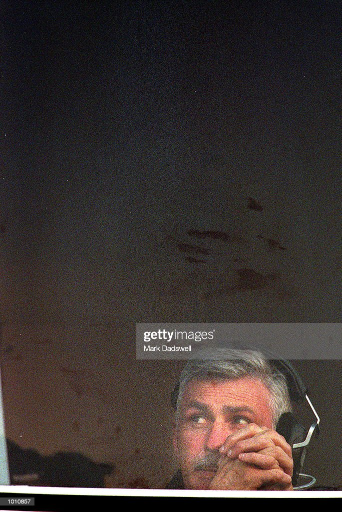 Mick Malthouse, coach of the West Coast Eagles looks away as the final siren sound, during the first semi final played at the MCG, Melbourne, Victoria, Australia. Carlton eliminated West Coast from the finals series. Mandatory Credit: MarkDadswell/ALLSPORT