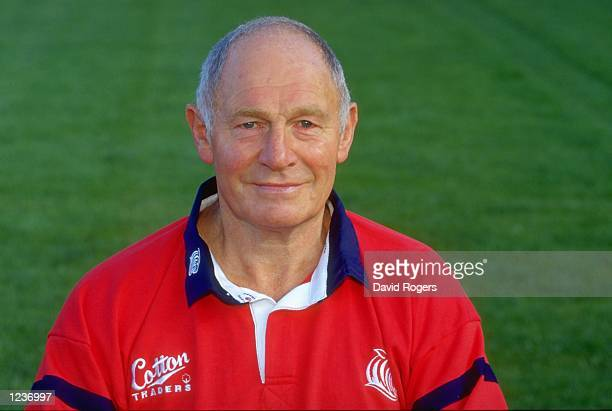 Portrait of Cliff Shephard of Leicester Tigers RFC at Welford Road Ground Leicester England Mandatory Credit David Rogers /Allsport