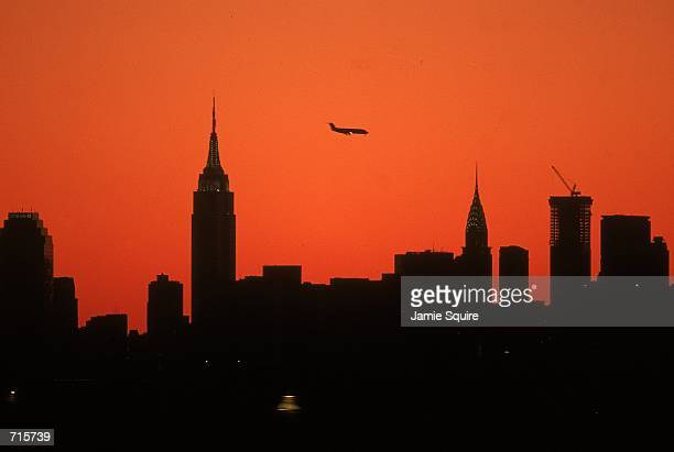 A general view of the New York Skyline taken during the US Open at the USTA National Tennis Center in Flushing Meadows New YorkMandatory Credit Jamie...