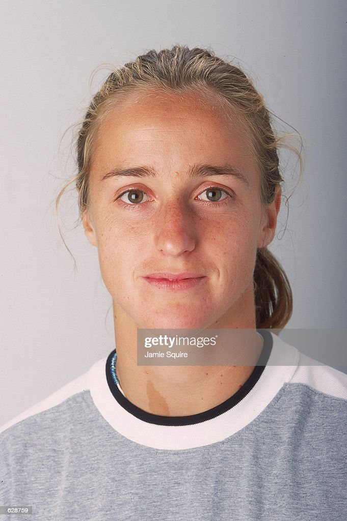 Magdalena Maleeva poses for a studio portrait during the US Open in Flushing Meadows, New York.Mandatory Credit: Jamie Squire /Allsport