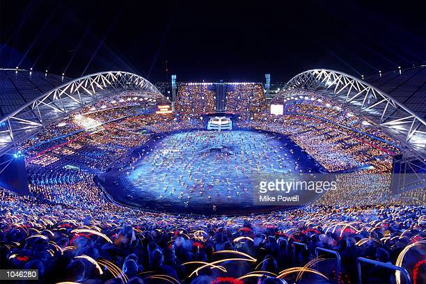 The Opening Ceremony of the Sydney 2000 Olympic Games in Sydney Australia Mandatory Credit Mike Powell/Allsport