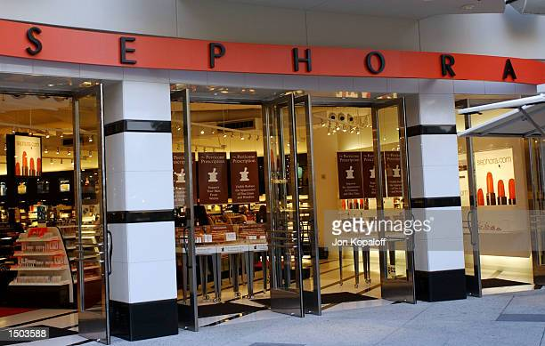 Sephora is photographed during Anna Sui's autograph signing October 18 2002 in Hollywood California