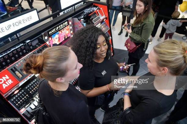 Sephora Opening at Kaufhof Beauty World on October 19 2017 in Duesseldorf Germany