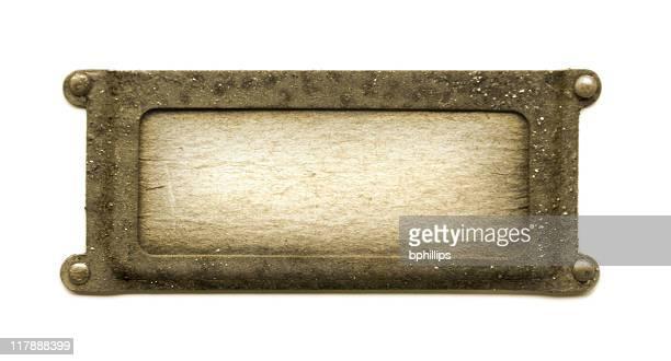 Sépia plaque