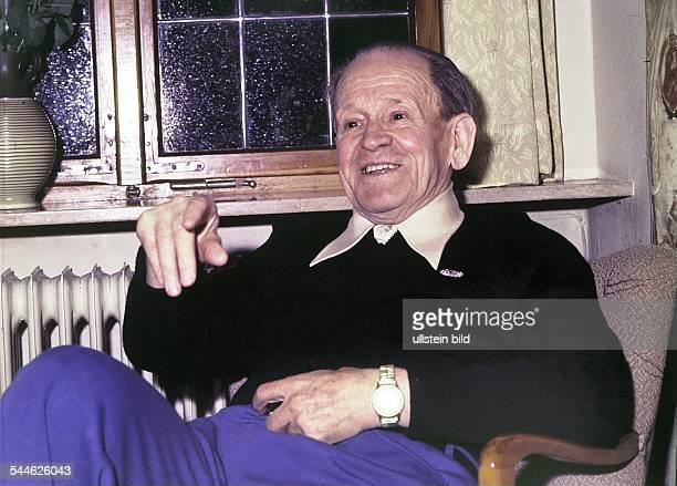 Sepp Herberger ehemaliger Trainer Nationalmannschaft D