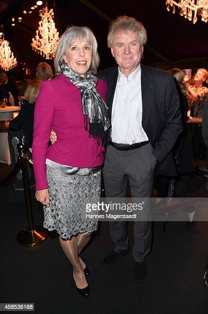 Sepp Maier and his wife Monika attend the Premiere Schuhbecks Teatro on November 6 2014 in Munich Germany