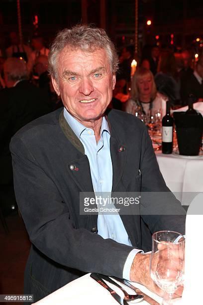 Sepp Maier during the VIP premiere of Schubecks Teatro's program 'Herzstuecke' at Spiegelzelt on November 5 2015 in Munich Germany