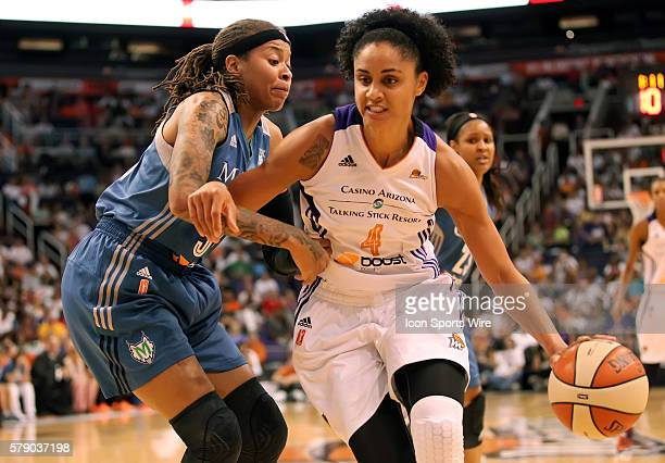 Mercury Forward Candice Dupree is guarded by Lynx Guard Seimone Augustus The Phoenix Mercury host the Minnesota Lynx in the 3rd game of the Western...