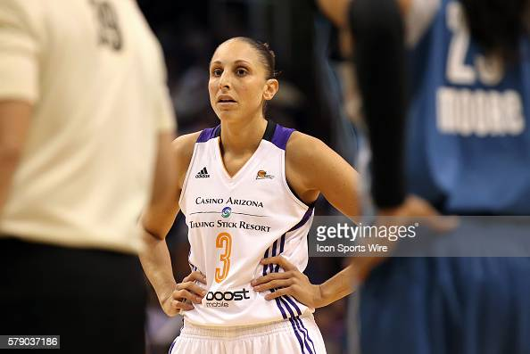 Mercury Guard Diana Taurasi waits for foul shot The Phoenix Mercury host the Minnesota Lynx in the 3rd game of the Western Conference Finals played...
