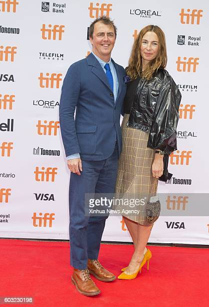 TORONTO Sept 11 2016 Director Garth Jennings Left attends the world premiere of the film 'Sing' at Princess of Wales Theatre during the 41st Toronto...