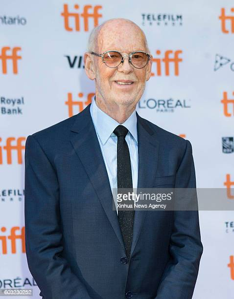 TORONTO Sept 11 2016 Director Mick Jackson poses for photos before the world premiere of the film 'Denial' at Princess of Wales Theatre during the...