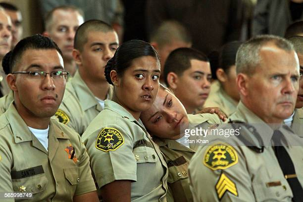 WHITTIER CA September 02 2011 A funeral was held Friday morning for a slain Whittier man who volunteered as an Explorer at the Los Angeles County...