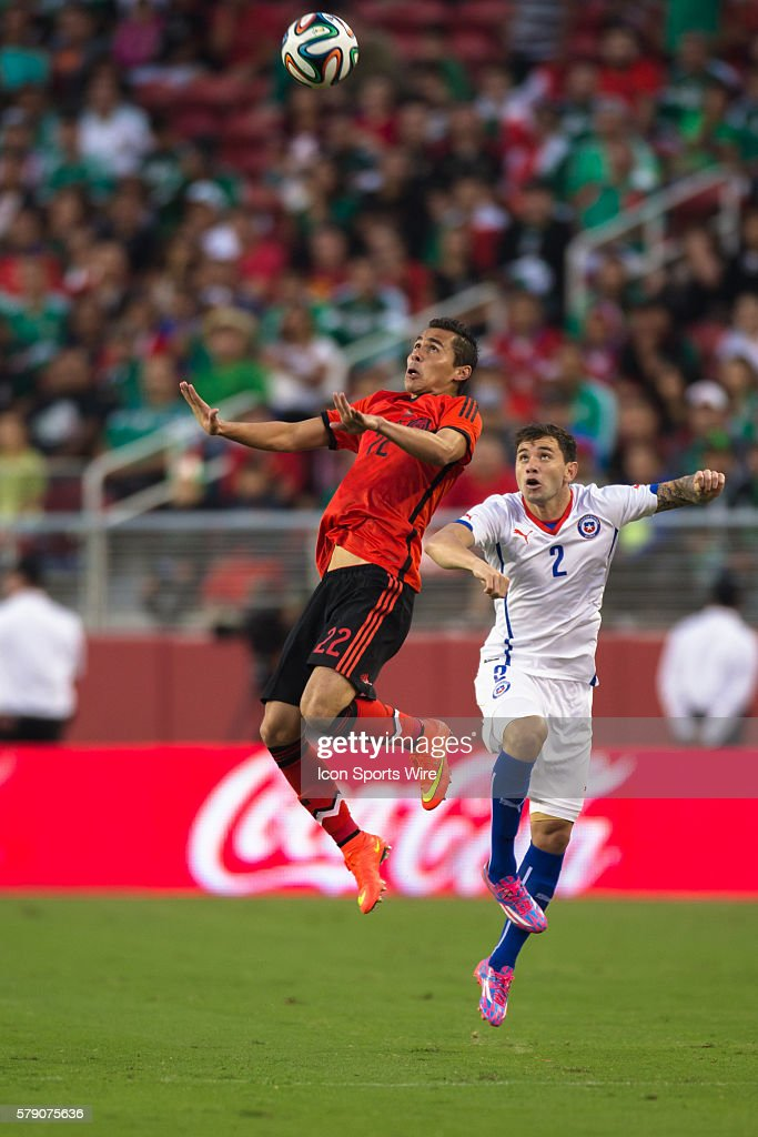 ... Mexico defender Paul Aguilar (22) tries to get a head on the ball as Paul  Aguilar during the World Cup ... 716a31b81
