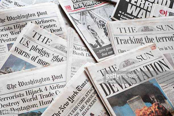 September 11 Newspapers and Headlines