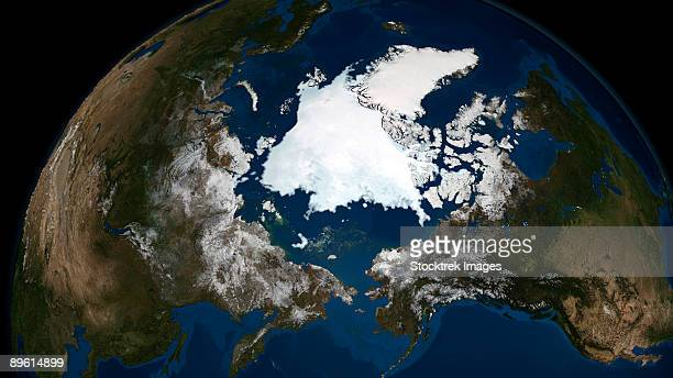 September 14, 2008 - Arctic sea ice.