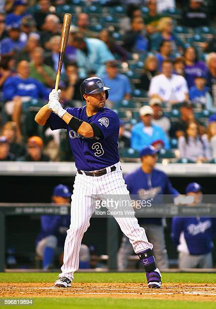 Colorado Rockies Outfielder Michael Cuddyer during a regular season Major League Baseball game between the Colorado Rockies and the visiting Los...