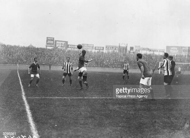 Midfield action as Chelsea play Sheffield United at Stamford Bridge London