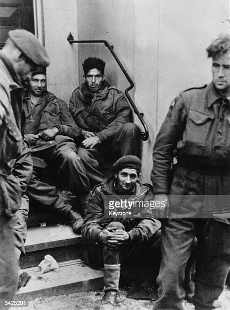 British Army prisoners captured by the Germans at Arnhem Holland