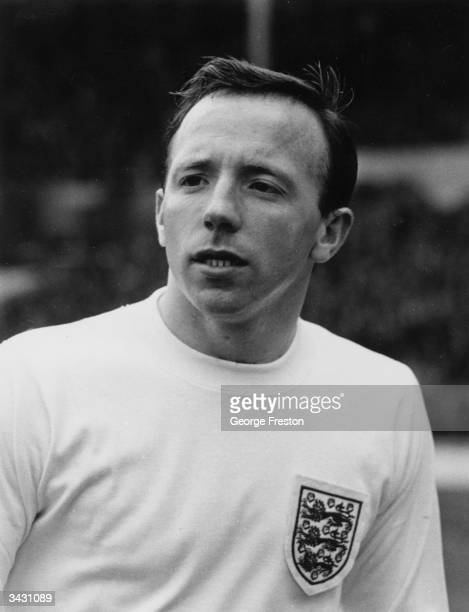 England and Manchester United footballer Nobby Stiles