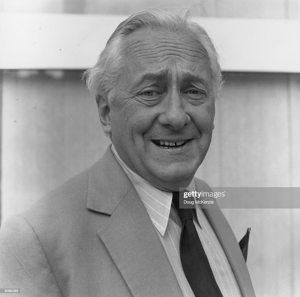 Television presenter Hughie Green (1920 - 1997), best known for his long running talent show 'Opportunity Knocks' and his catchphrase 'I mean that most sincerely folks'.