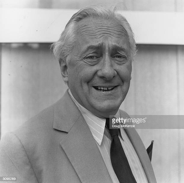 Television presenter Hughie Green best known for his long running talent show 'Opportunity Knocks' and his catchphrase 'I mean that most sincerely...
