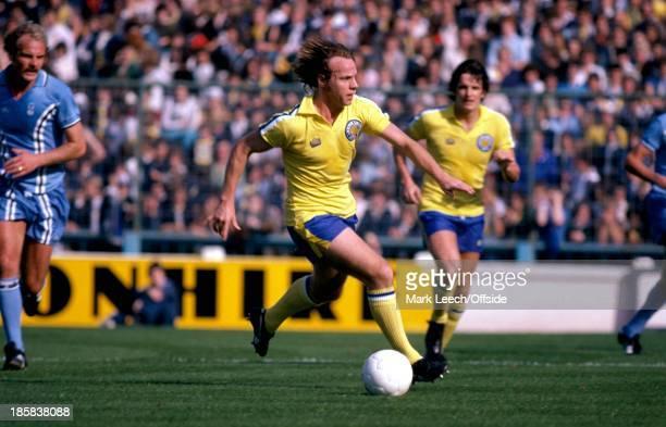 23 September 1978 English Football League Division One Coventry City v Leeds United Arthur Graham of Leeds
