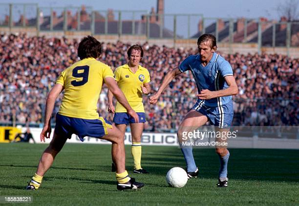 23 September 1978 English Football League Division One Coventry City v Leeds United Tommy Hutchison on the ball for City