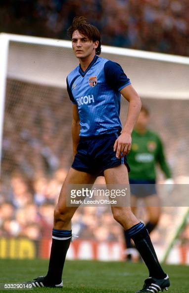 22 September 1984 Football League Division One Arsenal v Stoke City Steve Bould of Stoke