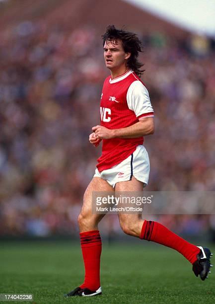 22 September 1984 Football League Division One Arsenal v Stoke City Arsenal striker Charlie Nicholas